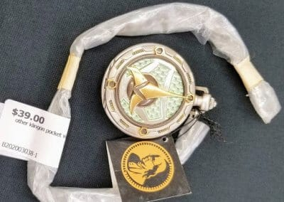 Gold and Green Klingon Pocket Watch