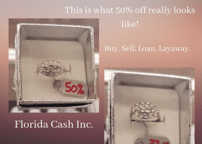 50% Ring Sale